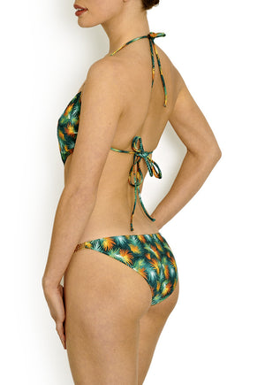 Tatiana Green Palm Swimsuit
