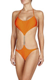 Tatiana Orange Swimsuit