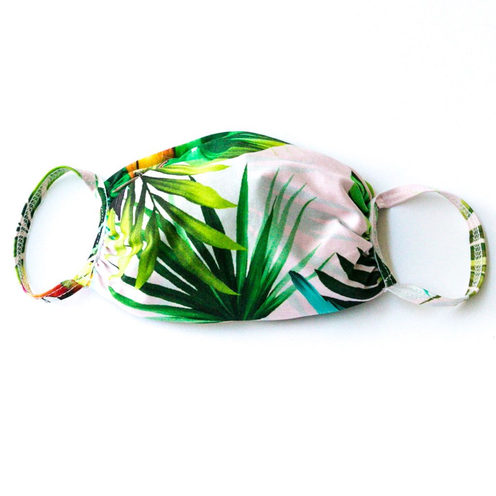 Fabric Face Mask Tropical print