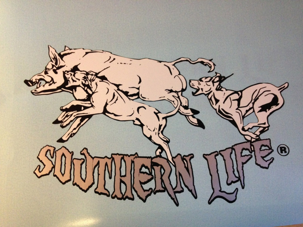 Putting The Brakes On Decal - Southern Life Apparel