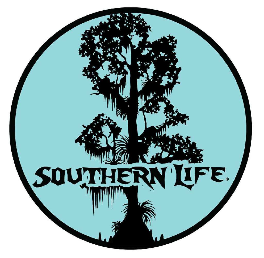 SL Cypress Round Decal - Southern Life Apparel