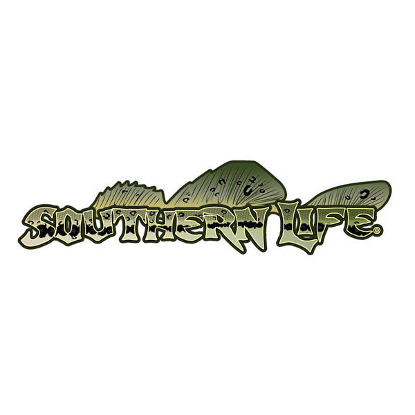 Southern Life Bass Decal - Southern Life Apparel