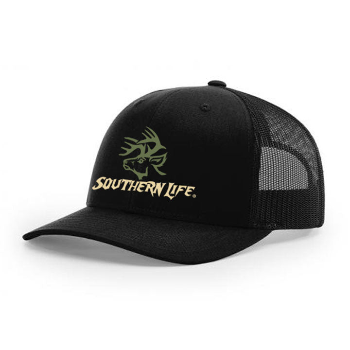 Monster Buck Snapback - Black - Southern Life Apparel