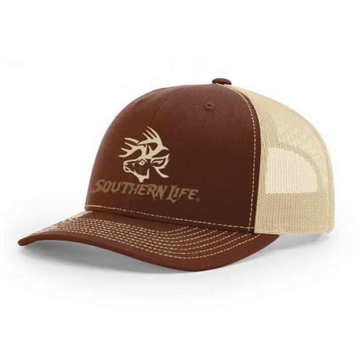 Monster Buck Snapback - Brown - Southern Life Apparel