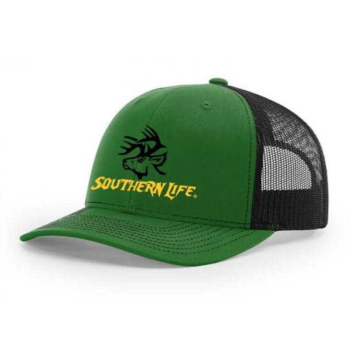 Monster Buck Snapback - Green - Southern Life Apparel