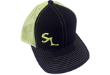 Green SL Logo Snap Back Hat - Southern Life Apparel