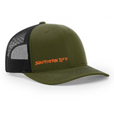 Green & Black Southern Life Snapback - Southern Life Apparel