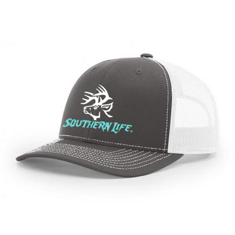 Black & Pink Southern Life Snap Back Hat