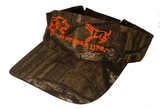 Orange Camo Hog Dog Visor - Southern Life Apparel