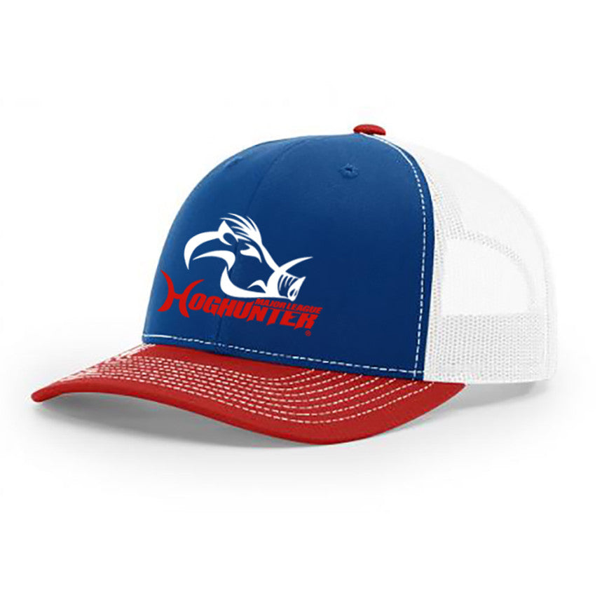 Major League Hog Hunter Red, White & Blue Snapback - Southern Life Apparel