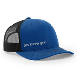Royal Blue Southern Life Snap Back Hat - Southern Life Apparel