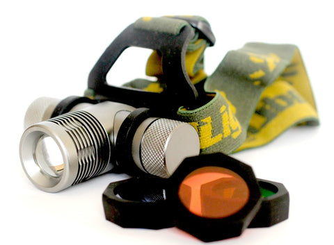 LED Headlamp for Night Vision