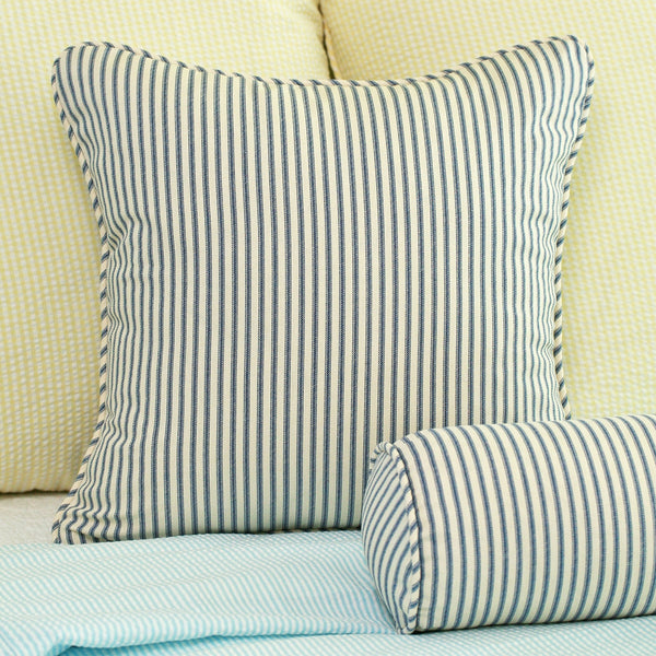 Ticking Stripe Throw Pillow Cover 18x18 ? Southern Ticking Co.