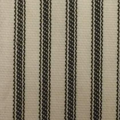 Black Ticking Stripe Bedskirt | Twin, Full, Queen, King, Cal King, Extra Long Twin