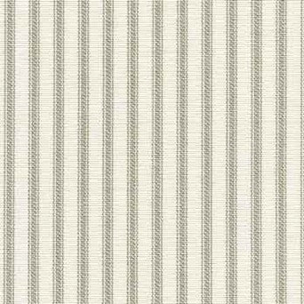 Ticking Stripe Pillow Sham Gray Standard Euro King