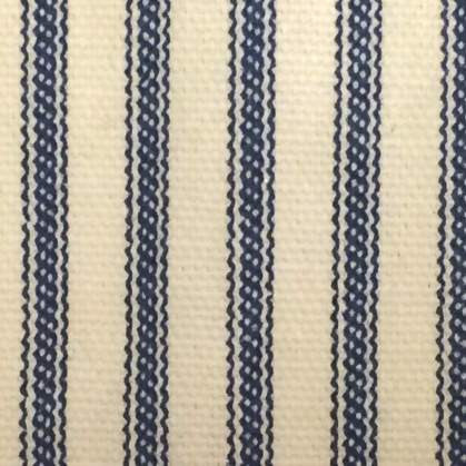 Ticking Stripe Pillow Sham Navy Blue