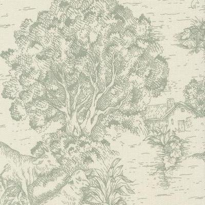 Toile De Jouy Fabric By The Yard