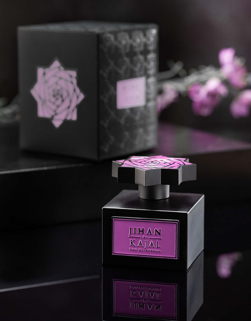 Visual of Jihan by Kajal EDP 100ml.  A new niche fragrance part of the Warde Collection.