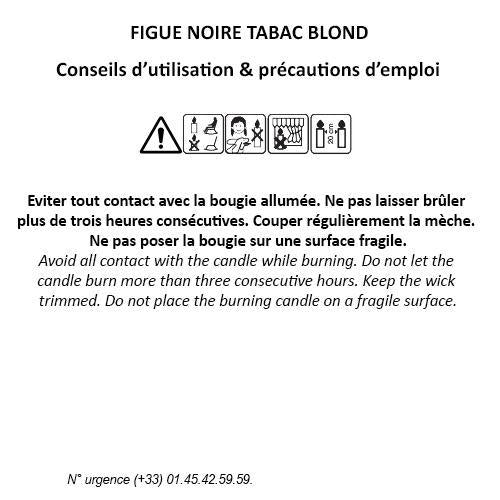 Fragonard Figue Noire Tabac Blond Candle