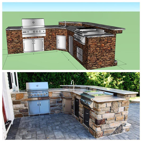 OUTDOOR KITCHEN FROM DESIGN TO BUILD