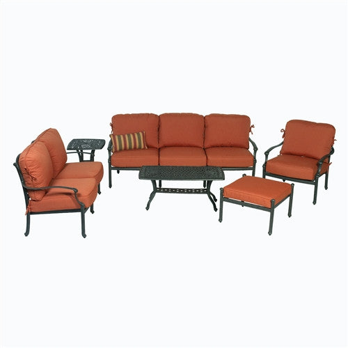 SUMMERSET ARIANA 6 PIECE DEEP SEATING SET