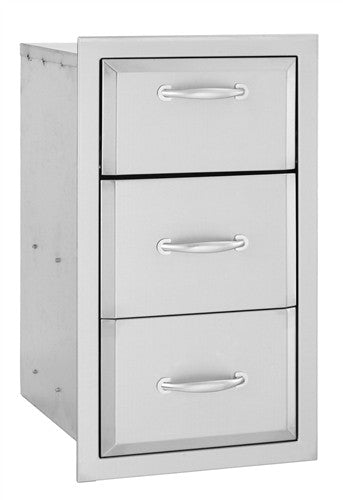 ALTURI STAINLESS TRIPLE DRAWER