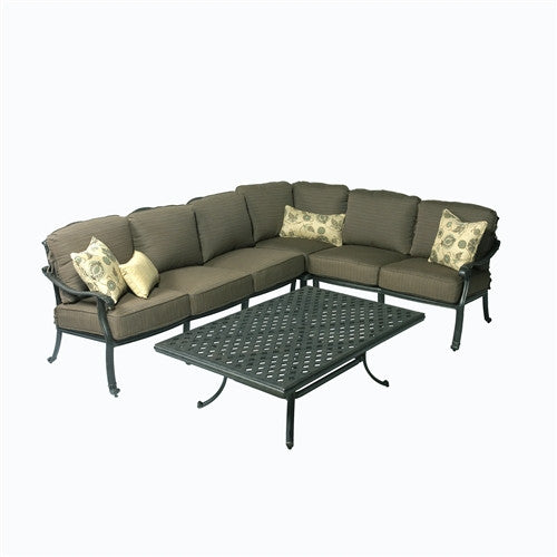 SUMMERSET MAHIMAA DEEP SEAT SECTIONAL SOFA