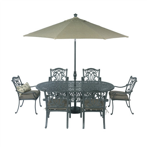 SUMMERSET MAHIMAA 84X42 OVAL SIGNATURE DINING