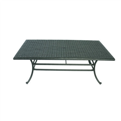 SUMMERSET RECTANGULAR (WEAVE) DINING TABLE 84