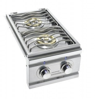 SUMMERSET TRL LIGHTED DOUBLE SIDE BURNER