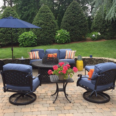 Summerset Patio Furniture.Summerset Outdoor Living With Custom Sunbrella Cushions Bbqs And More