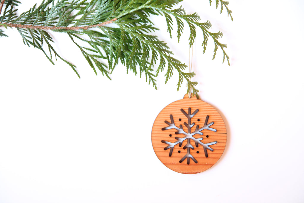 Snowflake Uno Ornament *NEW*