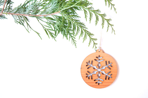 Snowflake Dos Ornament *NEW*