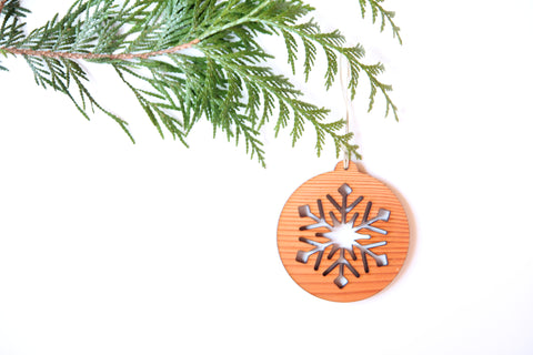 Snowflake Tres Ornament *NEW*