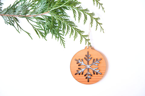 Snowflake Cuatro Ornament *NEW*