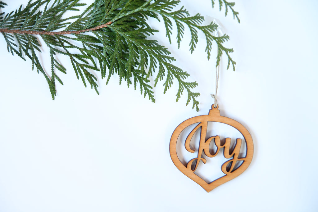 Joy Ornament *NEW*