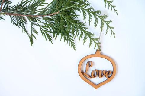Love Ornament *NEW*