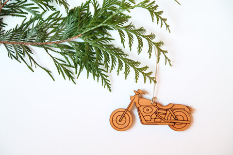 Motorcycle Ornament *NEW*