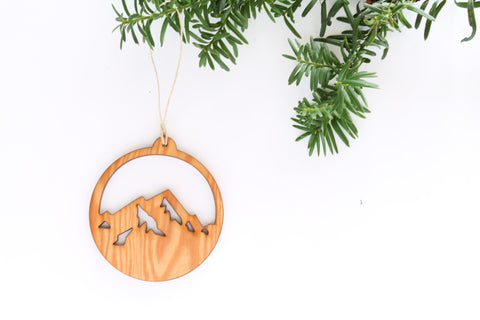 North Shore Mountains Ornament
