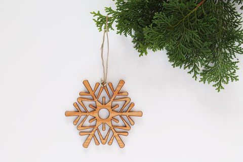 Pattern Snowflake Ornament