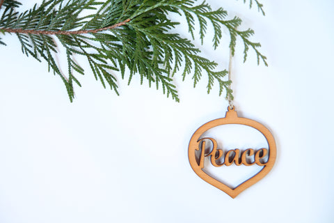 Peace Ornament *NEW*