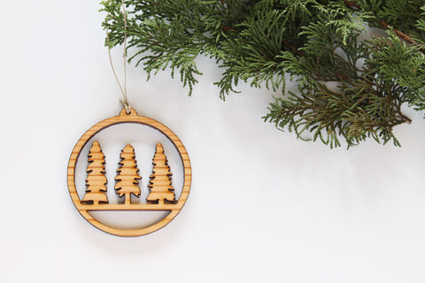 The Uncommon Good Three Tree Ornament