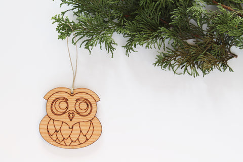 Woodland Owl Ornament