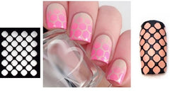 32 Nail Stencils style 102