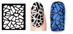32 Nail Stencils style 109
