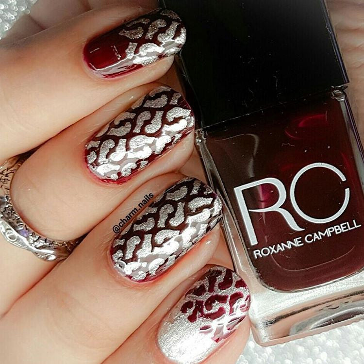 32 Nail Stencils style 128