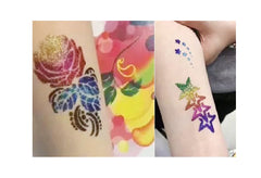 Tulip Flower Tattoo Body Art  Stencils c2