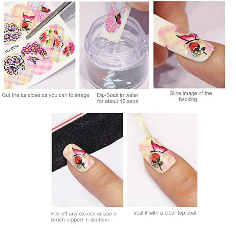 Duck Full Nail Wrap
