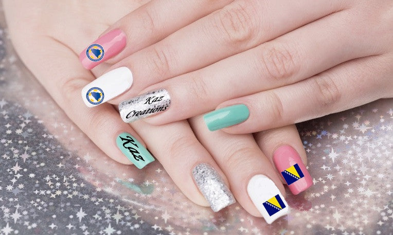 BOSNIA AND HERZEGOVINA Nail Art