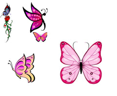 Butterfly Iron On Transfers